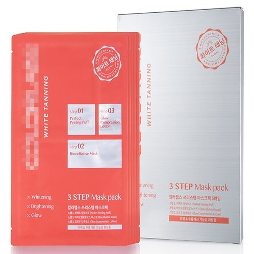 All in One Whitening Care - 3 step face mask