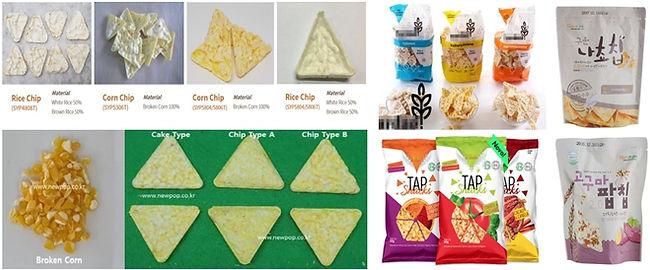 triangle corn popcorners