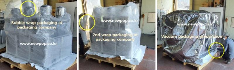 SYP Tortitas de arroz máquina - Comience a empacar