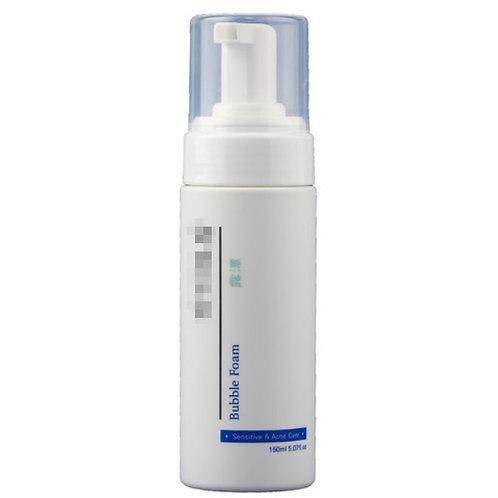Weakly acidic bubble foam -acne care