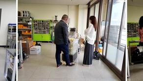 Visita del comprador a la empresa