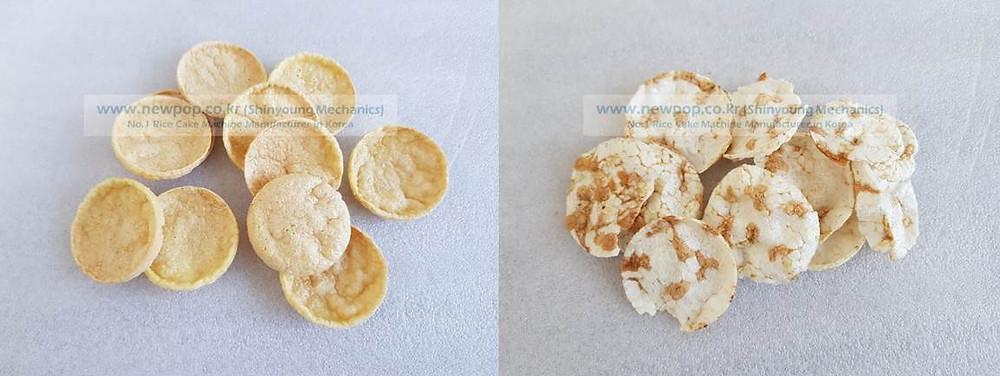 Prueba de pellet de maíz y pellet de frijol