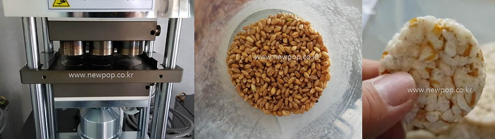 Test of SYP4506 Rice Popper