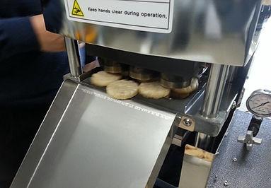Prueba de la máquina de panadería