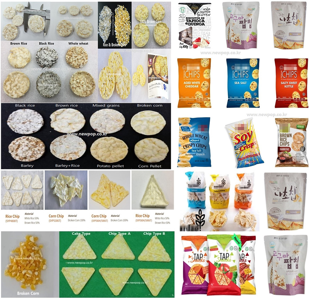 Popped chips produced by SYP Models