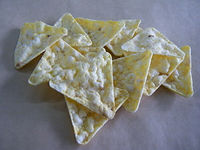 triangle corn chips