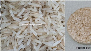 SYP9002 Rice Popper Test by Indian Charminar Brown Rice