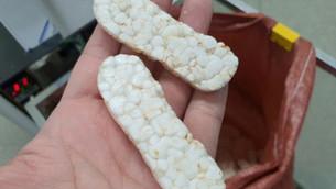 New shape of rice popper