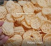 ridged mold potato chip