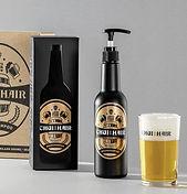 Hairloss beer shampoo