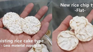 New rice chip & cake type in 2019