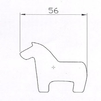 horse shaped rice cake