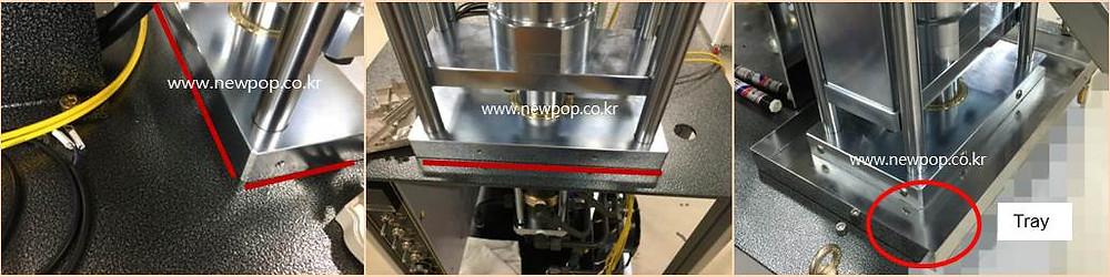 Bandeja de aceite de SYP Tortitas de arroz máquina