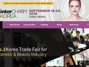 InterCHARM KOREA (SEP.18-20,2019)