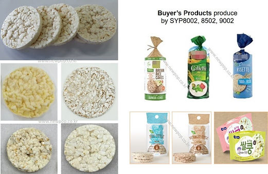 popped rice cake products