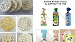 Tortas de cereales reventadas para círculo