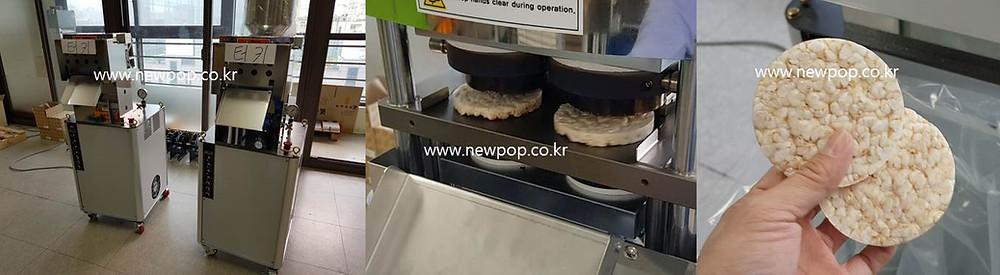 Galletas de arroz máquina