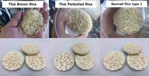 Prueba de SYP8502 con 5 diferentes tipos de arroz.