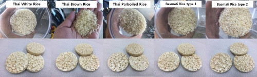 Test of SYP8502 with 5 different rice