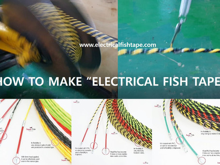 How to make Twisted fish tapes
