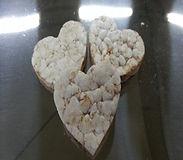 Heart shape rice cake machine