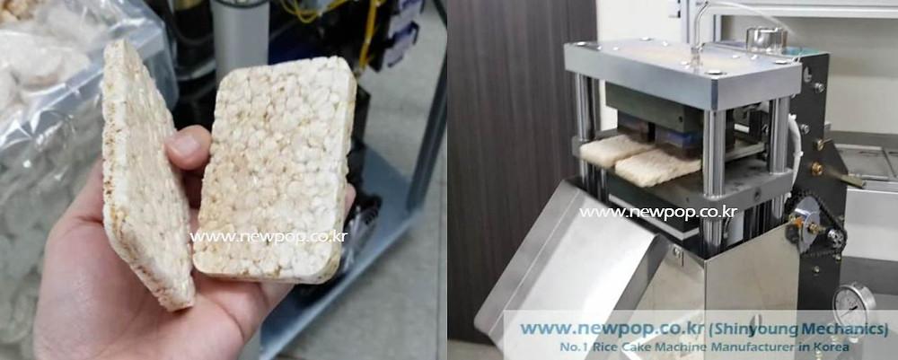 SYP9070 Rectangle rice cake machine