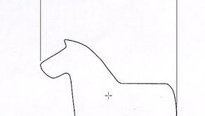 Nueva forma de la máquina de la panadería (caballo)