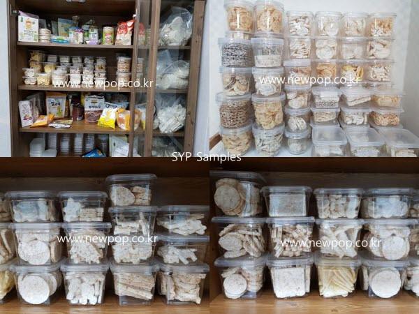 rice cake samples