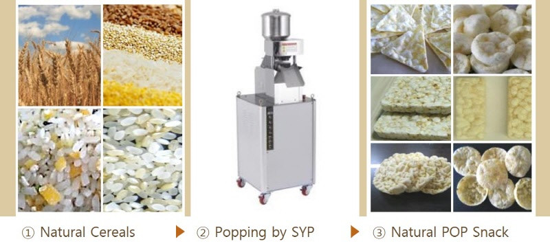 SYP Rice Popper