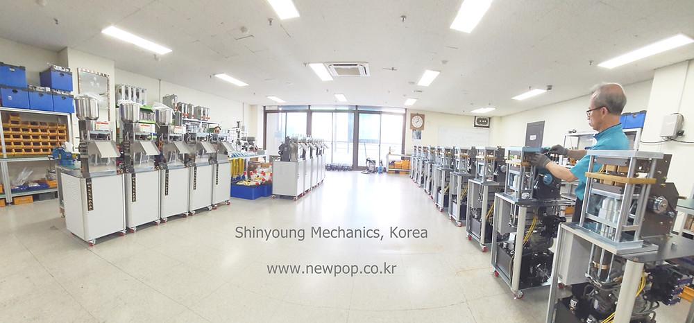Factory of Shinyoung Mechanics