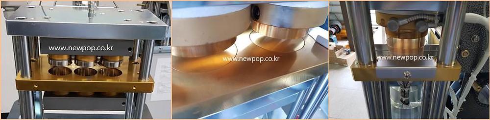 recubrimiento de titanio de SYP Galletas de arroz máquina