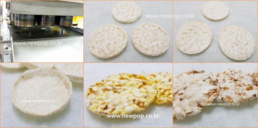 Máquina de galletas de arroz