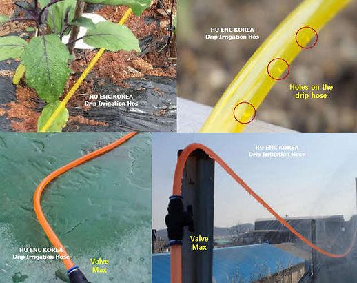 Drip irrigation hose