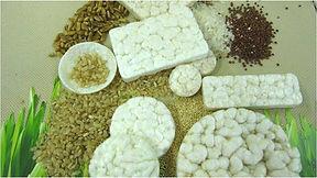 tortitas de arroz máquina