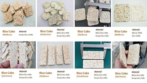 square rice cakes