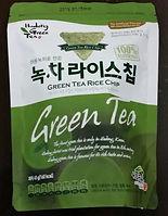 green tea rice cake