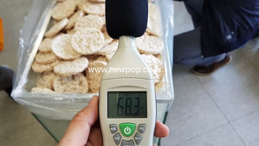Test of Noise level of SYP Rice popper
