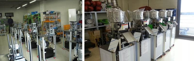 Production of rice cake machines