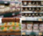 rice cake in supermarket