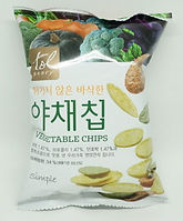 vegetable rice chips