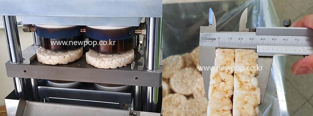 SYP9502 18T Tortitas de arroz máquina