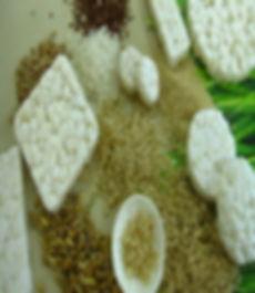 ryžių pyragas