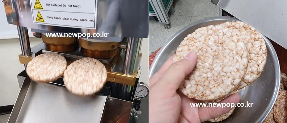 Test video of buckwheat cake