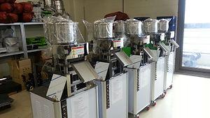 Rice cake machines factory
