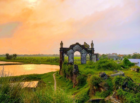 Nam Dinh Ruined Church 廃墟の教会