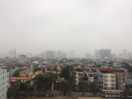 大気汚染 ハノイ