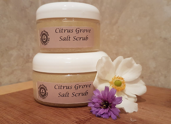 Citrus Grove Salt Scrub