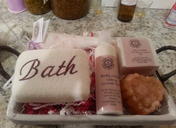 Bath Gift set - delux