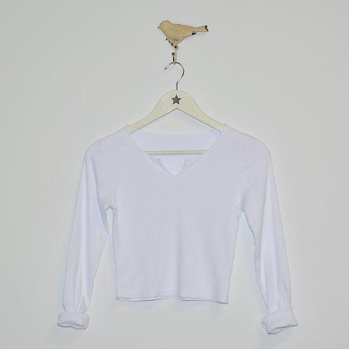 Camiseta canalé Olivia