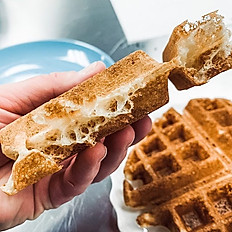 Yeasted Sourdough Waffle